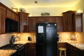 lights above kitchen cabinets led light strip project beckwith s treasures