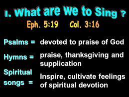 Psalms Of Praise And Thanksgiving Singing In Worship Ppt Video Online Download
