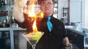 the best cocktail garnishes episode 1 how to make a flaming lime