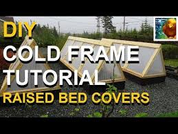 diy how to build cold frames raised bed covers newfoundland