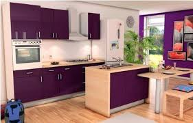cuisine couleur aubergine couleur aubergine cuisine cuisine et grise avec cuisine