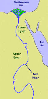 nile river on map ancient history for geography and the nile river