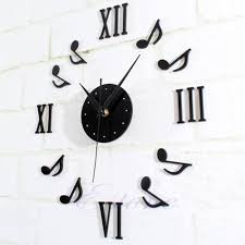 music note home decor music note wall clock images home wall decoration ideas
