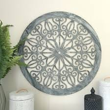 wall ideas round outdoor metal wall art round mirror wall decor