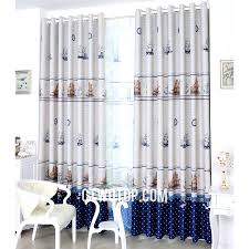 108 Inch Long Blackout Curtains by Heavy Blackout Affordable White And Royal Blue Nautical Curtains