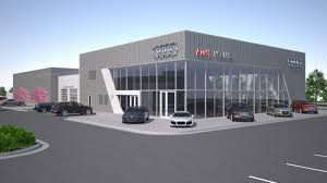 jaguar land rover dealership wichita luxury collection opens permanent audi dealership