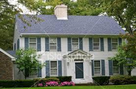 white colonial blue shutters cape cod homes pinterest blue