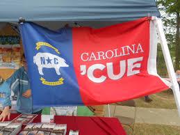 North Carolina Flag History Bbq Festival Conquering The North Carolina Bbq Trail