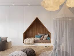 Designing A Bed This Bedroom Design For A Teenager Features A Bed Built Into A