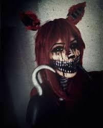 Realistic Scary Halloween Costumes Foxy Nights Freddy U0027s Costume