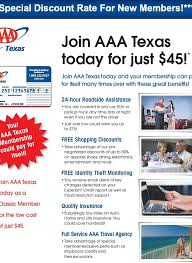 Texas discount travel images Aaa discount membership webp
