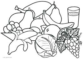 healthy food coloring pages preschool healthy coloring pages food coloring sheets coloring pages of