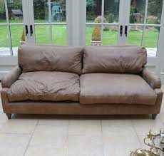 Ebay Leather Sofas by Loaf Leather Sofa Pavlova Brown Walnut Beaten Leather Was 1995