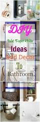 bathroom diy ideas diy toilet paper holder ideas add decor to bathroom u2022 diy home decor