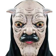 scary mask mask black cloth terror horror scary mask