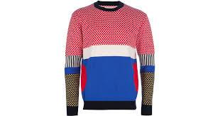 panda sweater lyst henrik vibskov panda sweater for