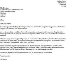 resignation letter format best same day resignation letter