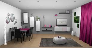 deco mur de cuisine deco salon mur blanc idées décoration intérieure