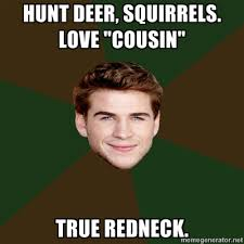 Redneck Cousin Meme - 20 hilarious hunger games memes taking over the web hunger