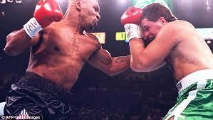 mike tyson fight 1995 u0027shows u0027time traveller u0027