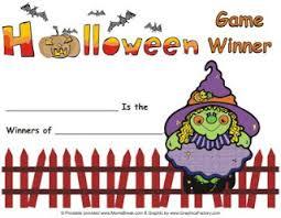 6 best images of halloween certificates printable halloween