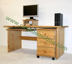 Schreibtisch Naturholz Büromöbel Kiefer Massiv Kiefern Möbel Fachhändler In Goslar