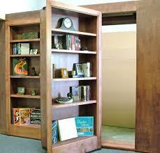 Building A Bookshelf Door The Flush Mount Hidden Door Is Perfect Creative Solution For Your