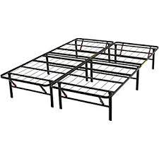 Black Platform Bed Frame Amazon Com Zinus 14 Inch Smartbase Mattress Foundation Platform