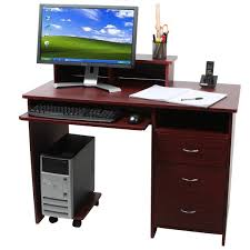 Good Computer Desk by Good Computer Desk With Drawers On Computer Desk With 3 Drawer