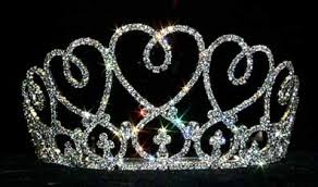 tiaras uk prom crowns large heart bouquet rhinestone tiara for prom