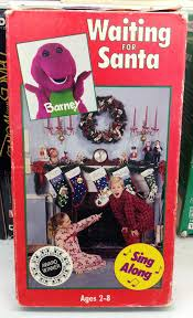 Images About Barneyandthebackyardgang Tag On by Barney U0027s Waiting For Santa 1992 Vhs I Used To Love Barn U2026 Flickr