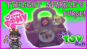 my pony purse what s inside twilight sparkle s purse my pony review by