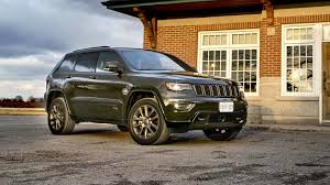 jeep grand cherokee 2017 2017 jeep grand cherokee limited 75th anniversary edition 4x4 test