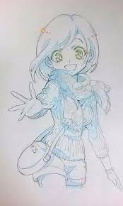 dessins de filles coquines au crayon bleu http xn 80aapluetq5f