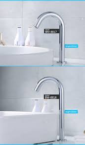 touch free kitchen faucet ce new automatic kitchen faucet touch sensor taps automatic sensor