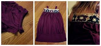 upcycle a ladies shirt into a child size dress stitch11