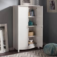 16 Cube Bookcase White Bush Furniture Aero Collection Writing Desk With 16 Cube Bookcase