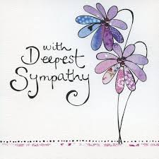 sympathy card finished with deepest sympathy card product images crafty