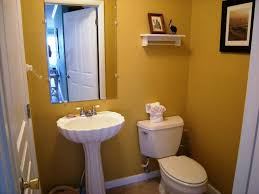 half bathroom decor yellow wall u2014 office and bedroomoffice and bedroom