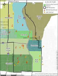 Salt Lake City Map Neighborhoods University Neighborhood Partners