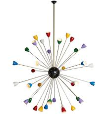 Sputnik Light Fixture by 36 Light Italian Stilnovo Style Sputnik Chandelier Rejuvenation