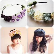 floral headband diy floral headband floral headbands also obviously make for a