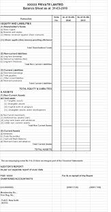 compulsory requirement of schedule iii balance sheet companies act