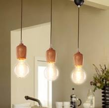 Edison Pendant Light Fixture Popular Wood Light Fixtures Buy Cheap Wood Light Fixtures Lots