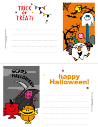 red happy halloween greeting card with halloween boo poem