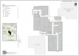 Fire Evacuation Floor Plan Maps Mapping Assets Properties And Spaces