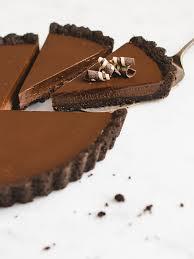 no bake chocolate tart pretty simple sweet