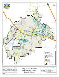 San Diego County Zoning Map by San Marcos Streets To Receive Chip And Slurry Seal News San
