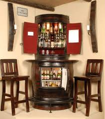 Small Bar Cabinet Furniture Small Liquor Storage Cabinet Home Bar Design For Brilliant Corner