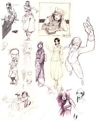 random 2007 sketches by kasai on deviantart